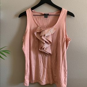 Rose colored tank🌸